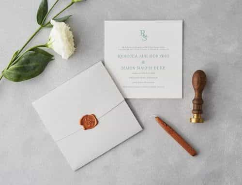 Sublime Wedding Stationery