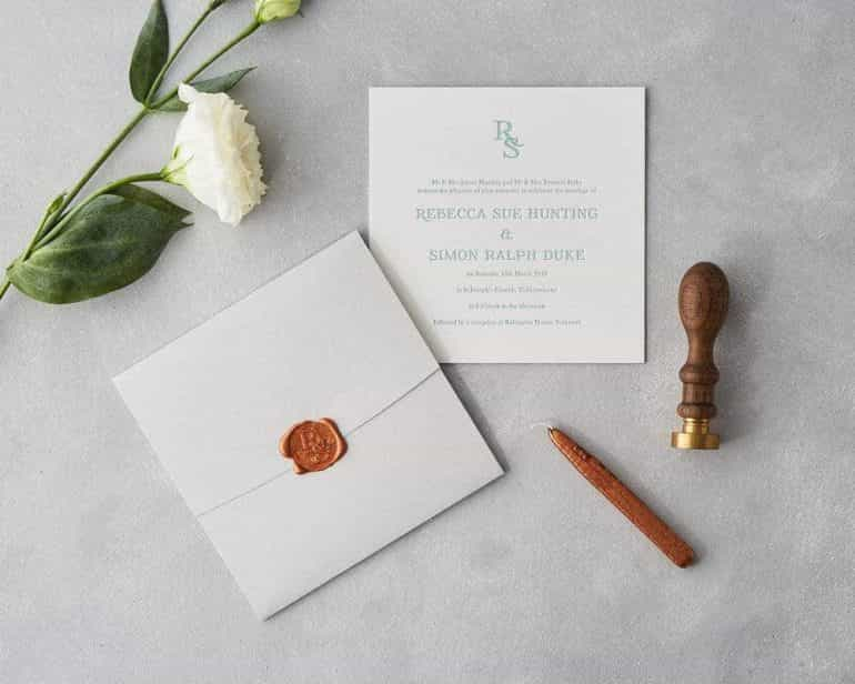 Sublime Wedding Stationery 1