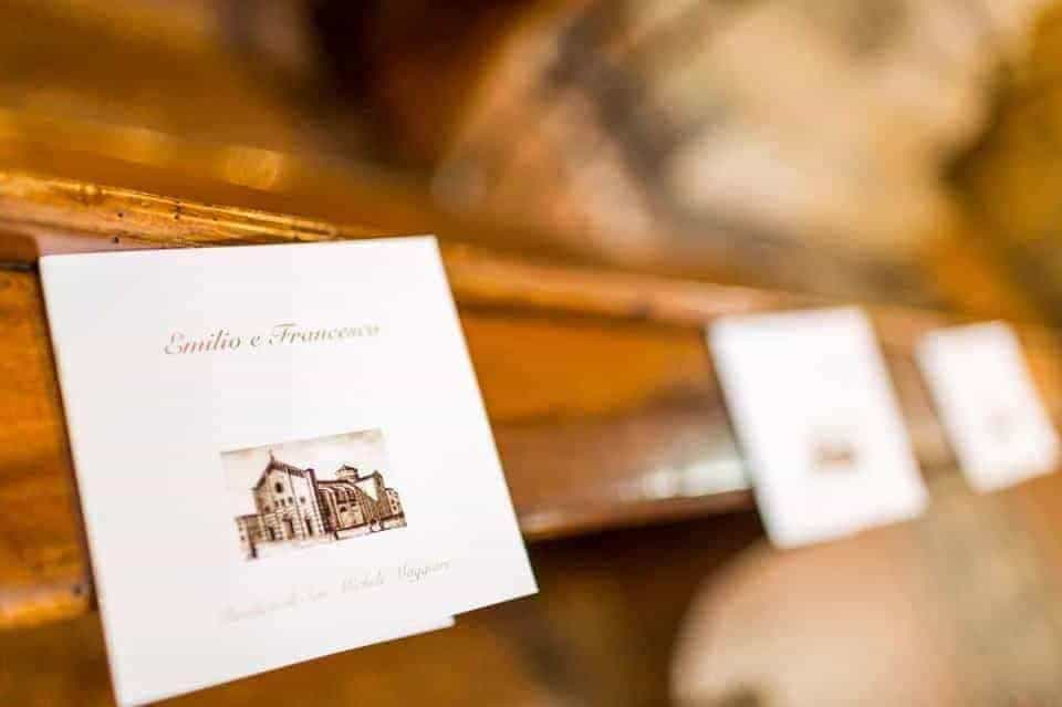 booklet church italian wedding copia - Luxury Wedding Gallery