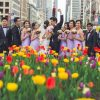 Chic and cheerful wedding in Chicago