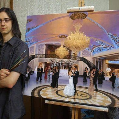 Live Event Painter – Q&A with Anthony Galati