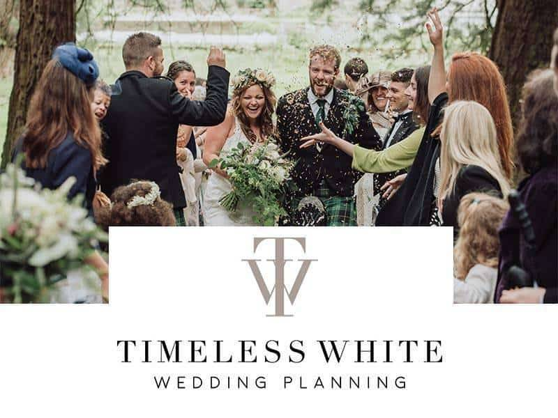 timeless white logo - Luxury Wedding Gallery