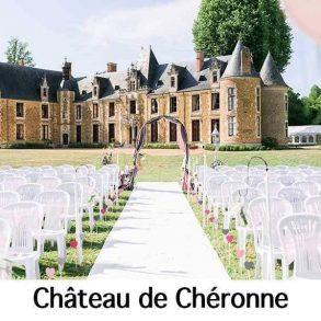 Château de Chéronne logo