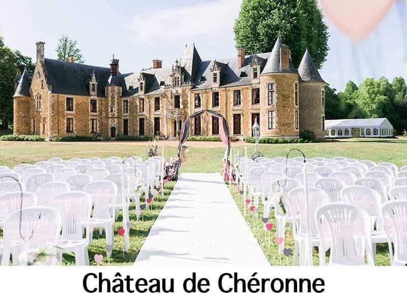 Château de Chéronne logo - Luxury Wedding Gallery