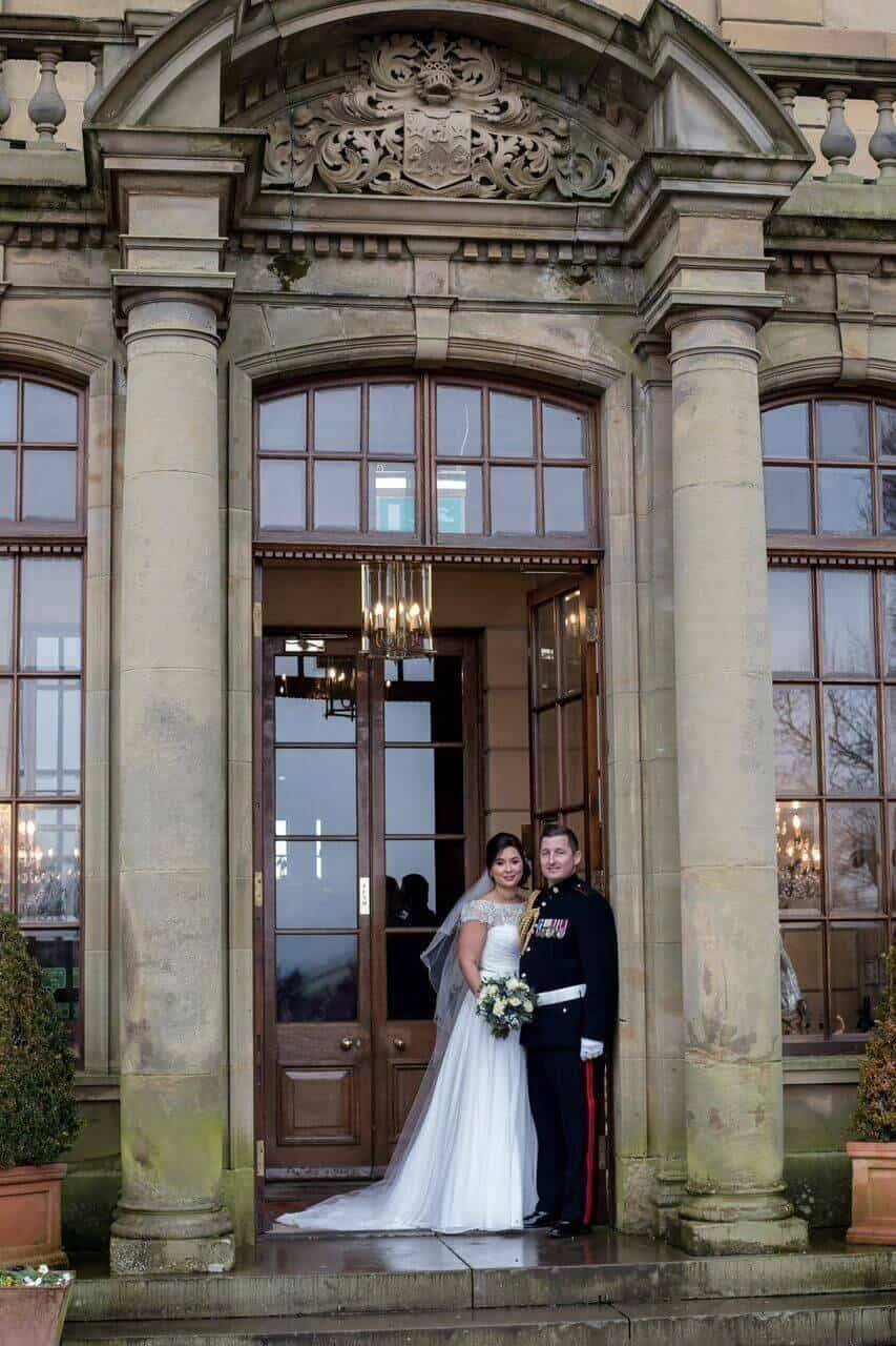 Rudby Hall celebrates 100th wedding