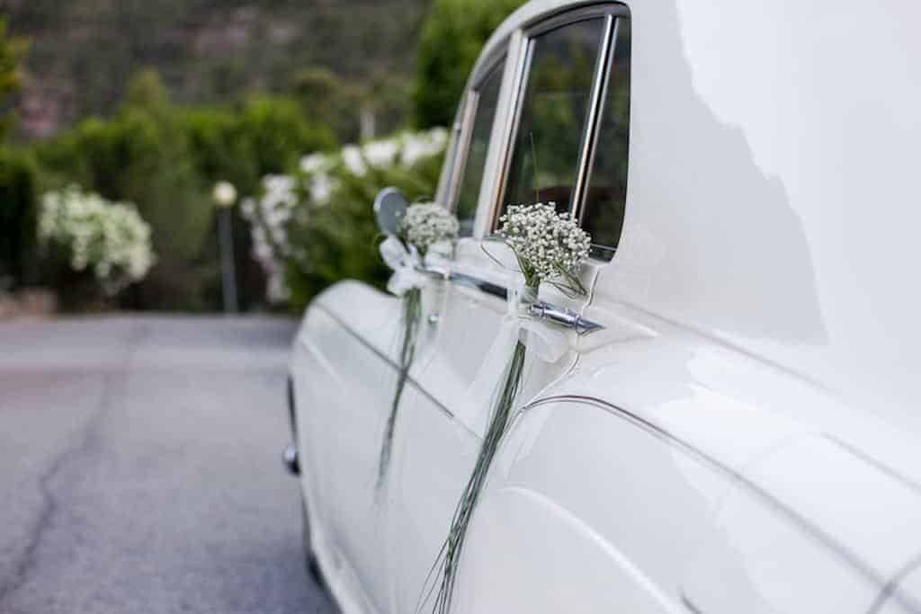 Wedding car matrimonio Laura Andrea - Luxury Wedding Gallery