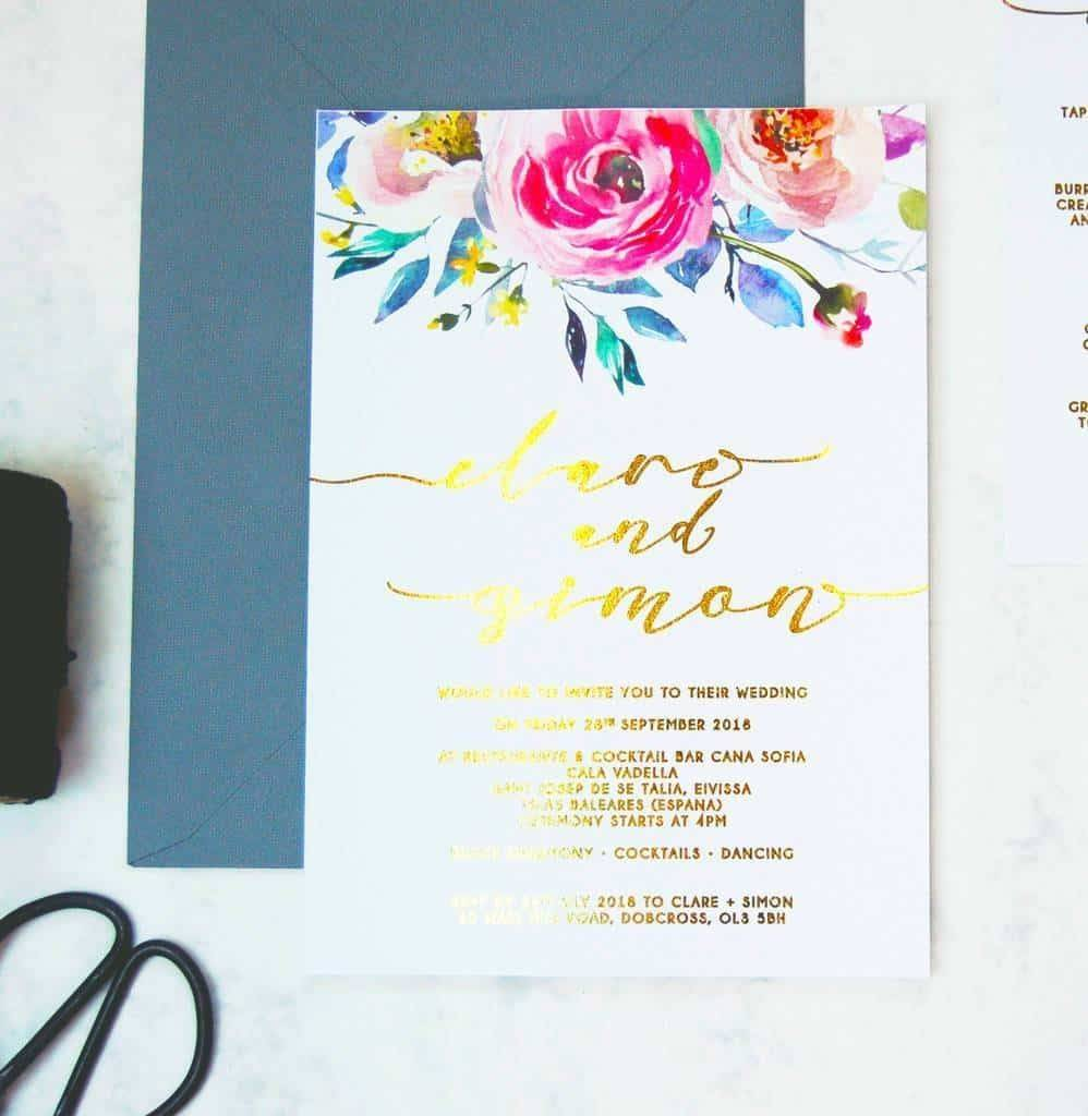Watercolour Weddings