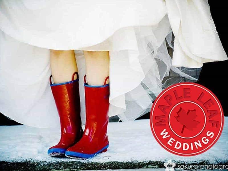 maple leaf weddings logo