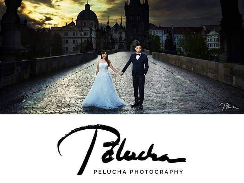 prague wedding by pelucha logo