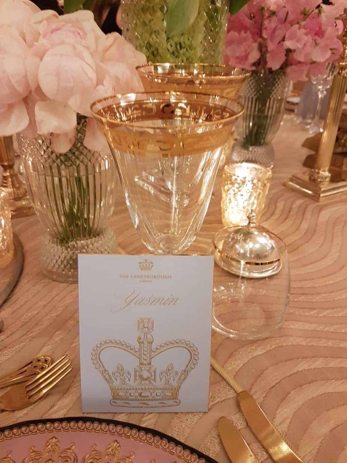 Karen Tran's Gala Dinner