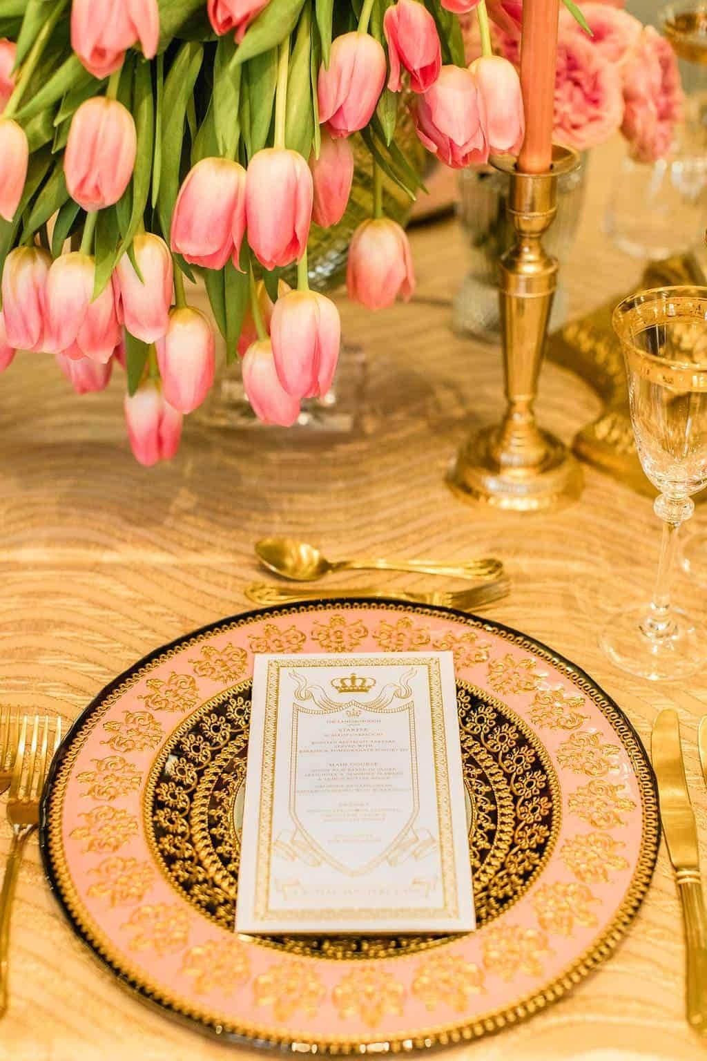 Royal Wedding Inspired Masterclass & Gala Dinner