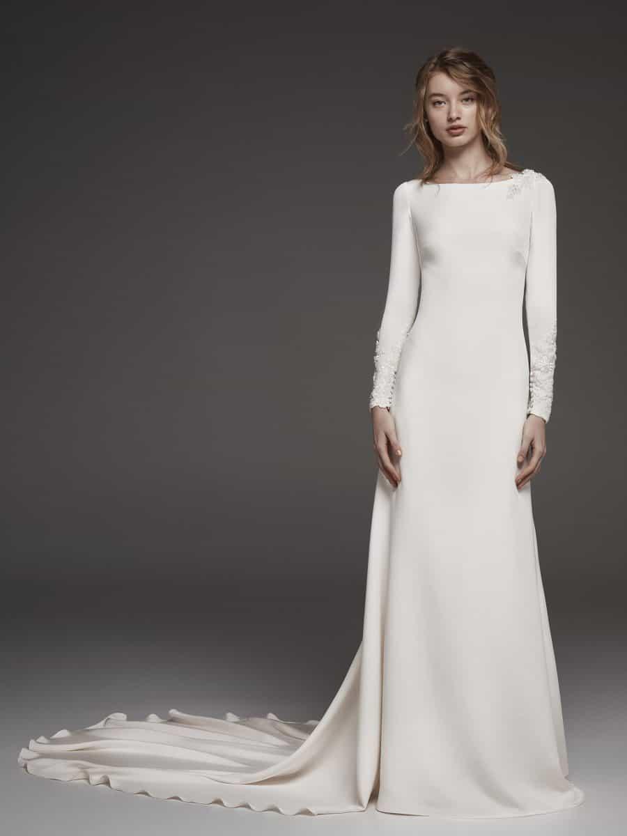 Meghan's bridal style