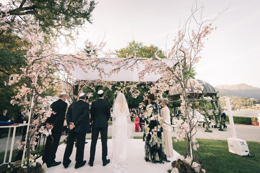 Three day wedding on Lake Como