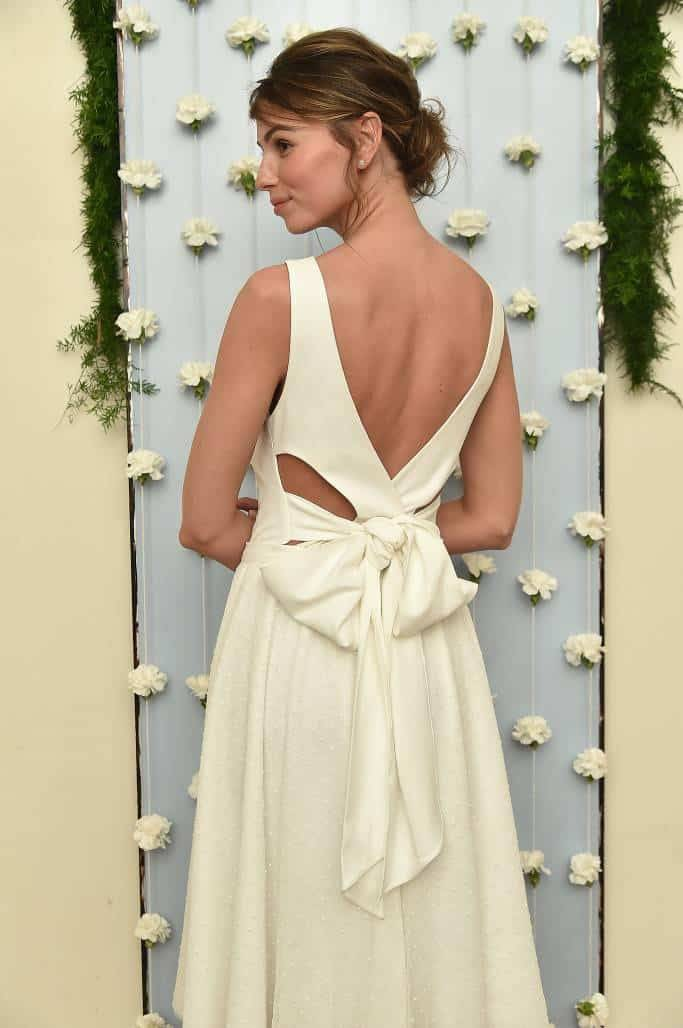 Wear your wedding dress again – Sarah Jessica Parker style!