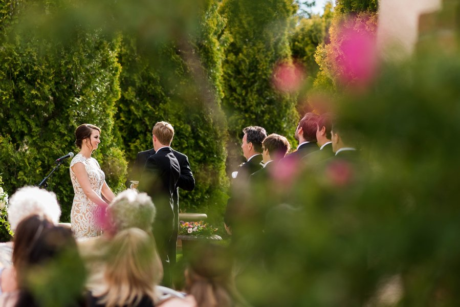 Black Tie Garden Wedding