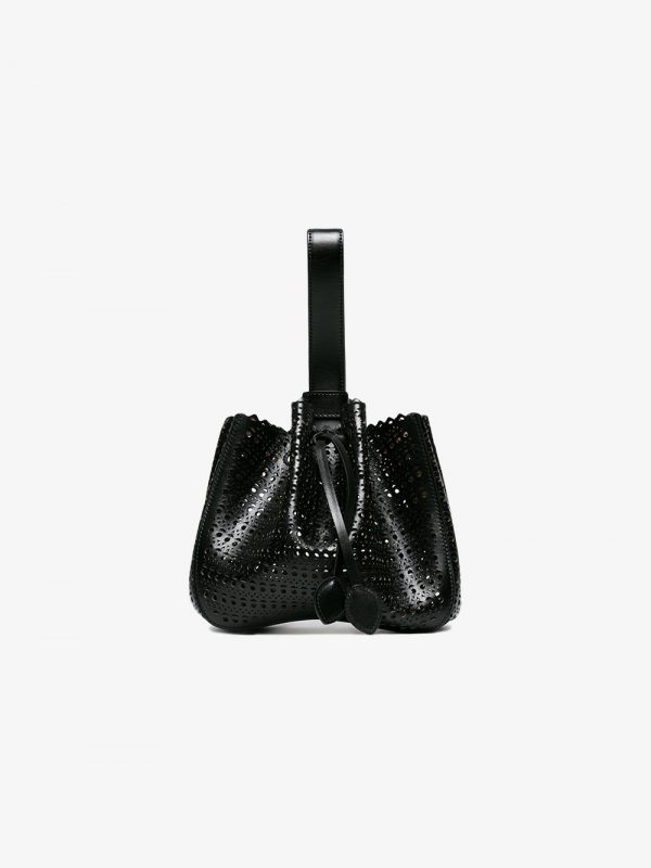 Alaïa Black Vienne Leather Mini bag