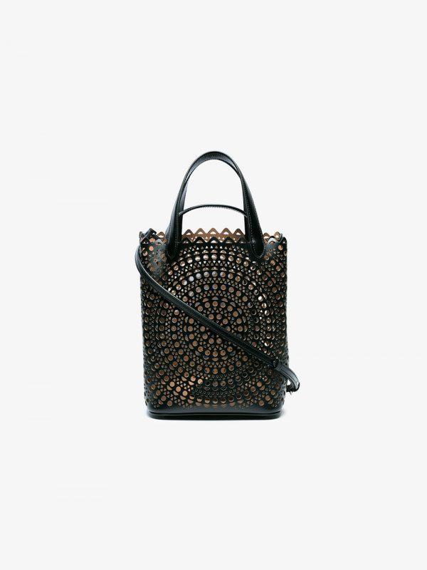 Alaïa Black Vienne Small Bucket bag