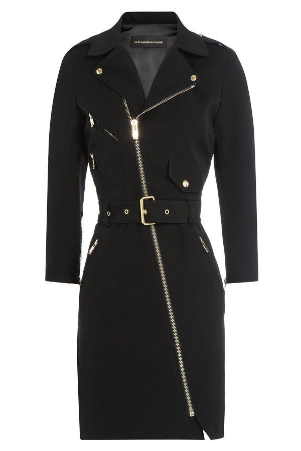 Alexandre Vauthier Biker-Style Dress