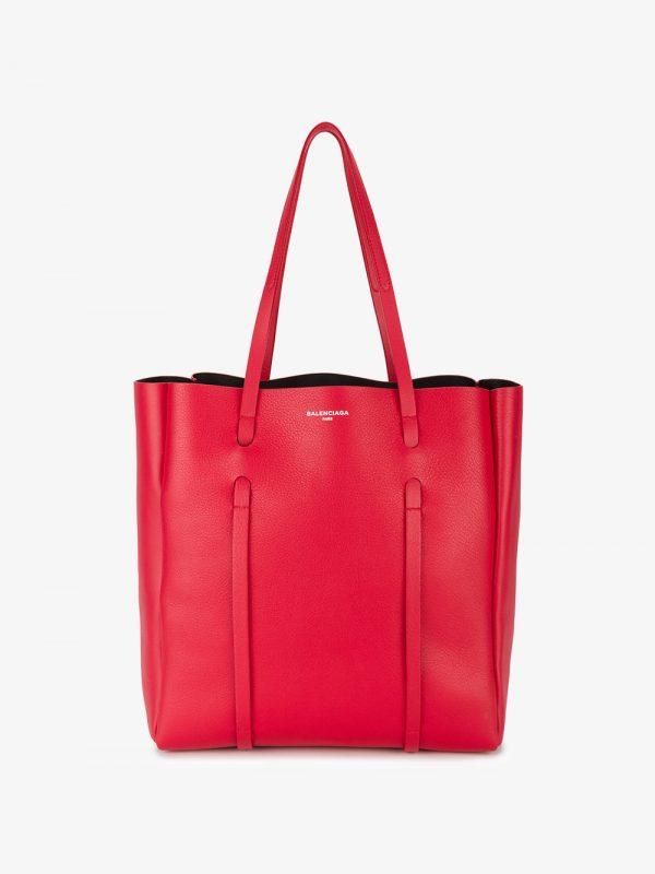 Balenciaga Red Everyday Medium Leather tote bag