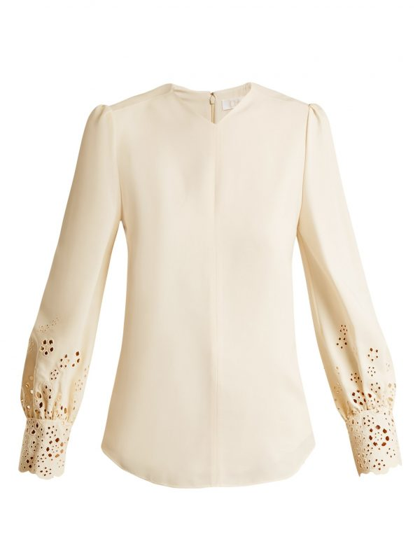Broderie-anglaise cady top