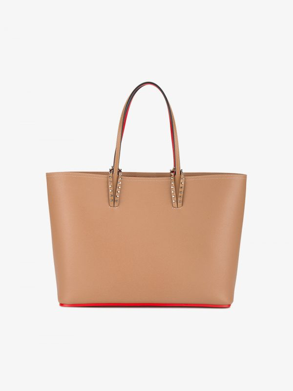 Christian Louboutin Tan cabata leather tote bag