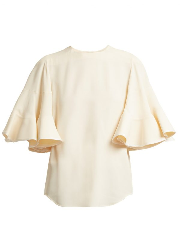 Fluted sleeve cady top