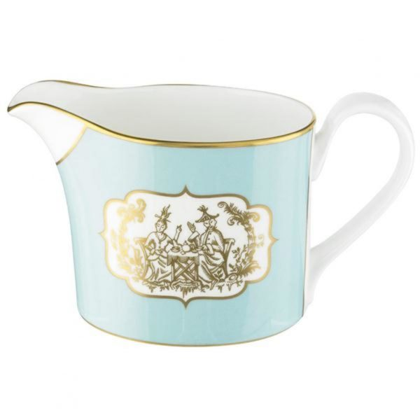 Fortnum & Mason St James Eau De Nil China Creamer