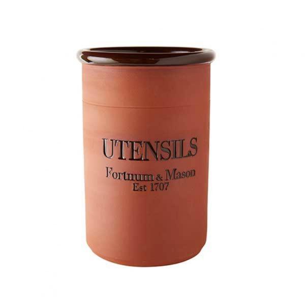 Fortnum & Mason Terracotta Utensil Jar