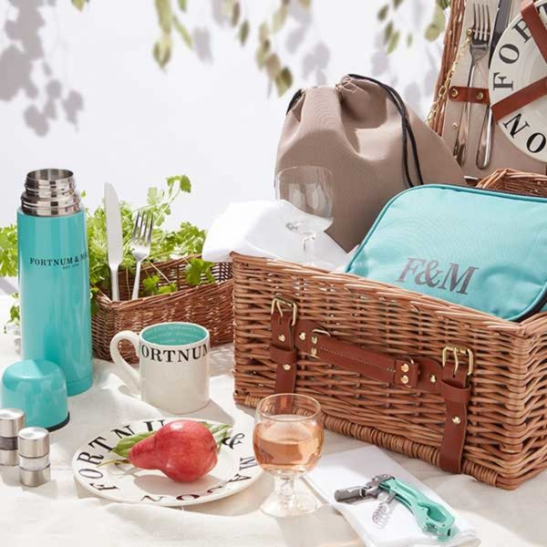 Fortnum & Mason The Piccadilly 2 Person Picnic Hamper
