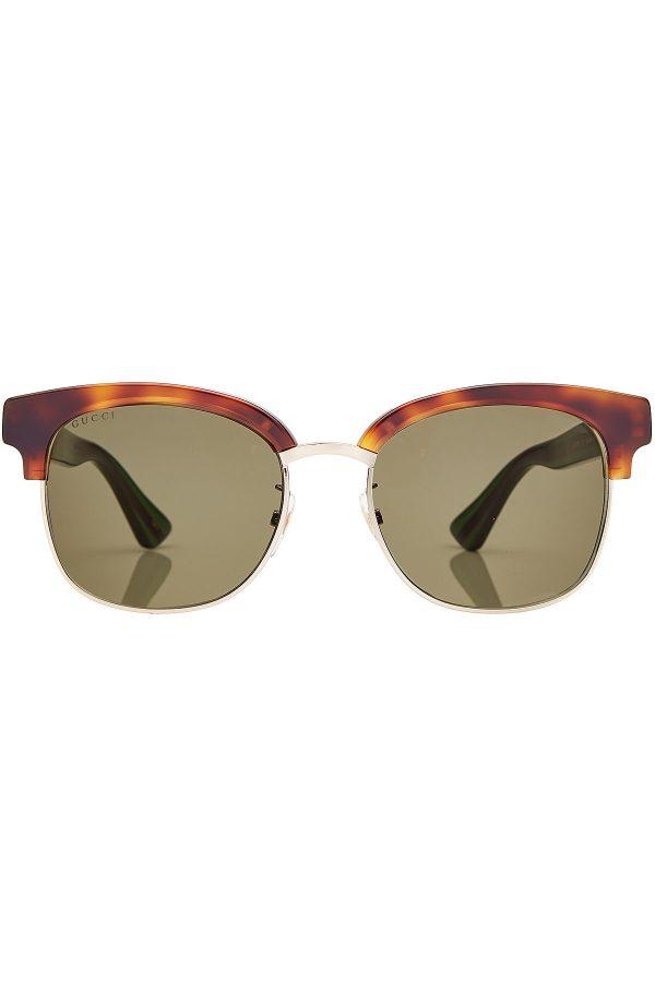 Gucci Sunglasses with Tortoiseshell Print