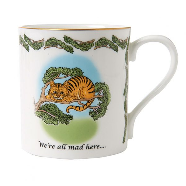 Halcyon Days Alice In Wonderland Cheshire Cat Mug