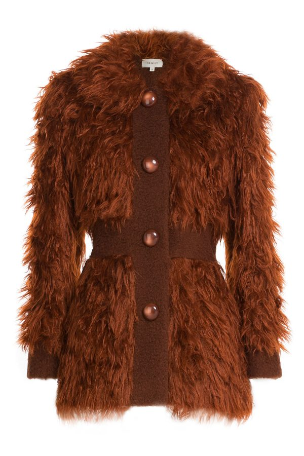 Isa Arfen Faux Fur Jacket