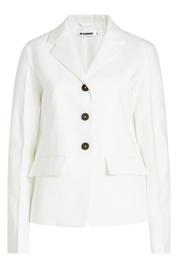 Jil Sander Tailored Blazer with Cotton