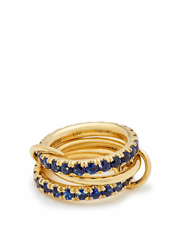 Juno 18kt gold & sapphire ring