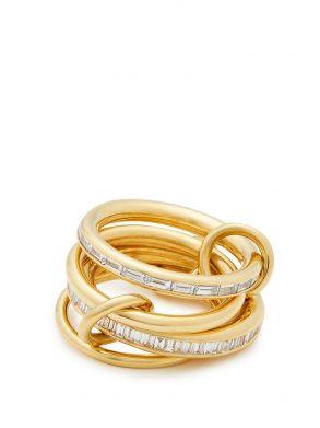 Lehmus diamond & yellow-gold ring