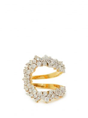 Mirian 18kt gold & diamond ring