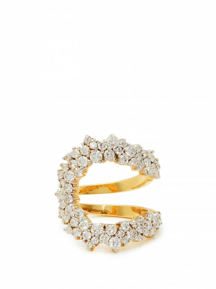 Mirian 18kt gold & diamond ring