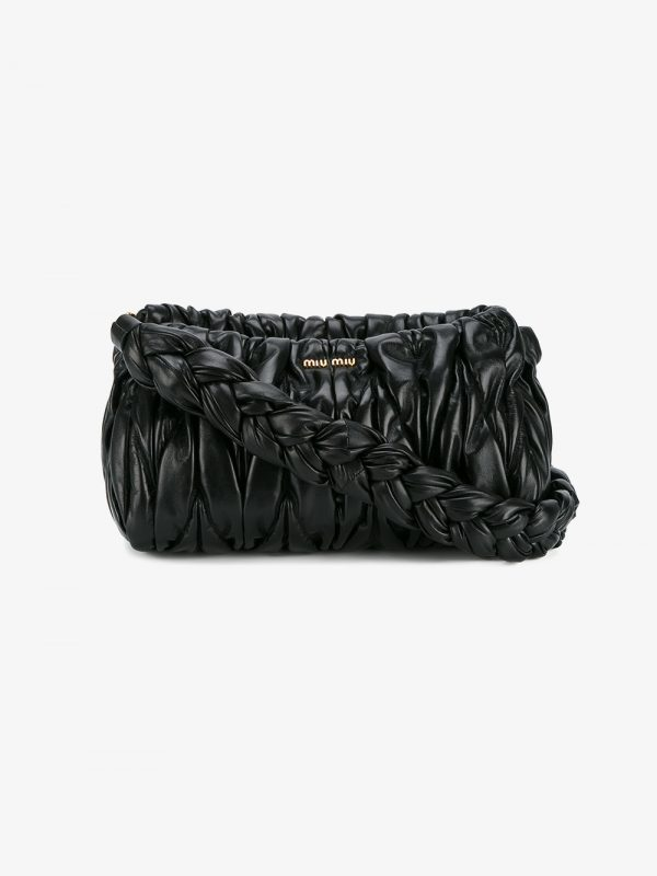 Miu Miu Matelassé medium shoulder bag