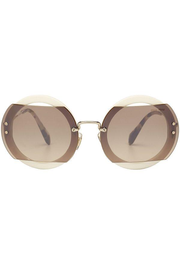 Miu Miu Round Sunglasses