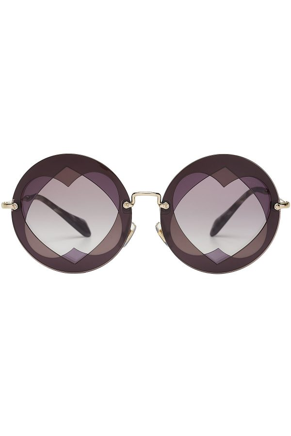 Miu Miu Sunglasses with Cut-Out Detail
