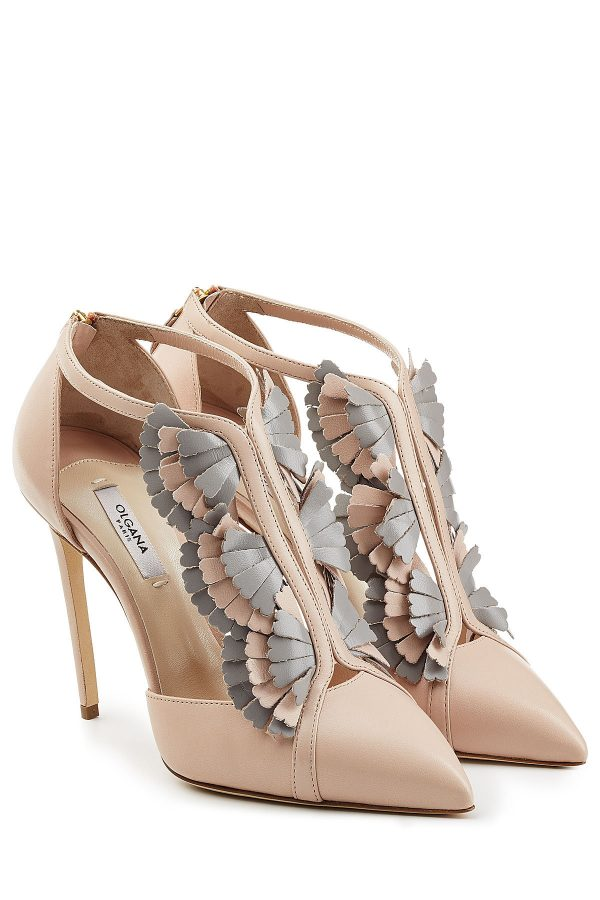 Olgana La Presieuse 10 Leather Pumps