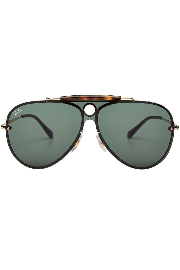 Ray-Ban RB3581N Blaze Shooter Aviator Sunglasses