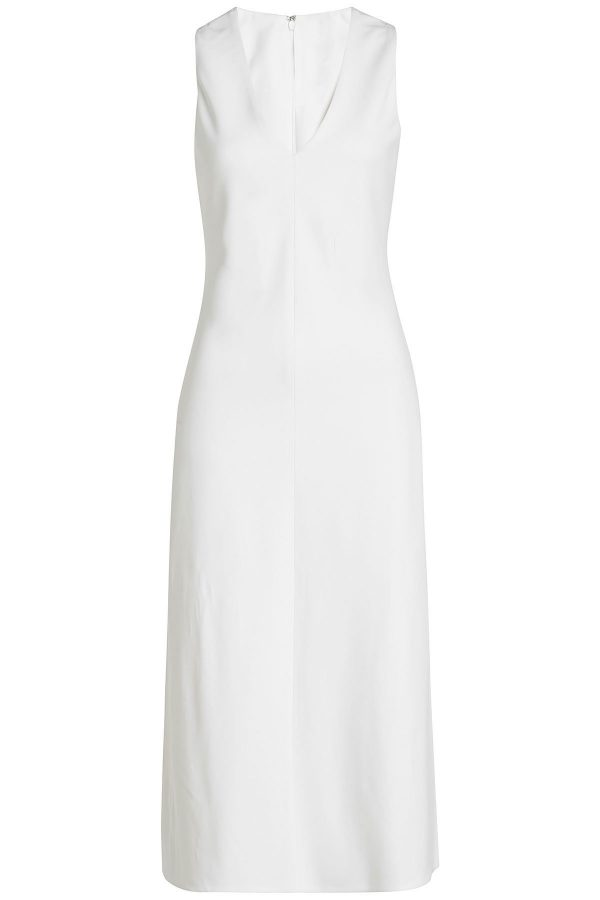 Rosetta Getty V-Neck Dress