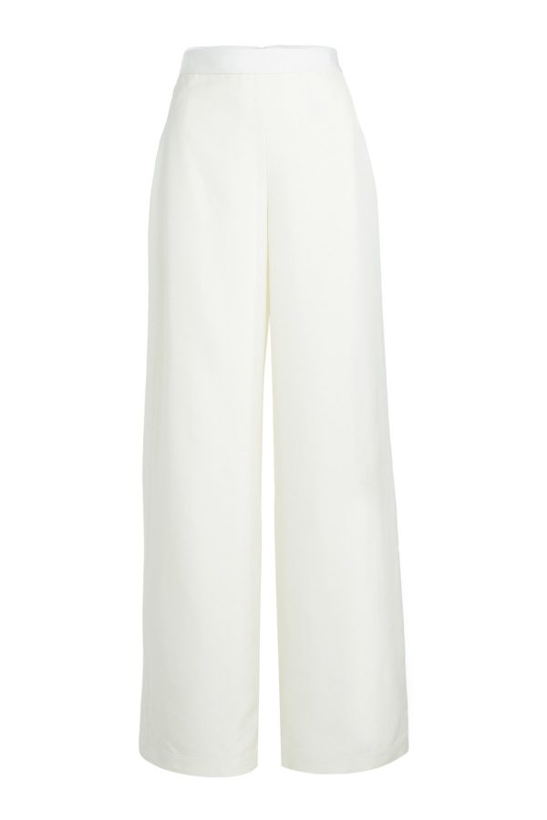Rosetta Getty Wide Leg Wrap Panel Pants