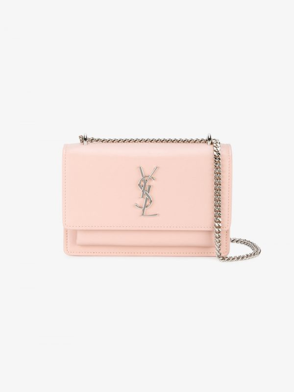 Saint Laurent Mini pink Sunset Monogram bag