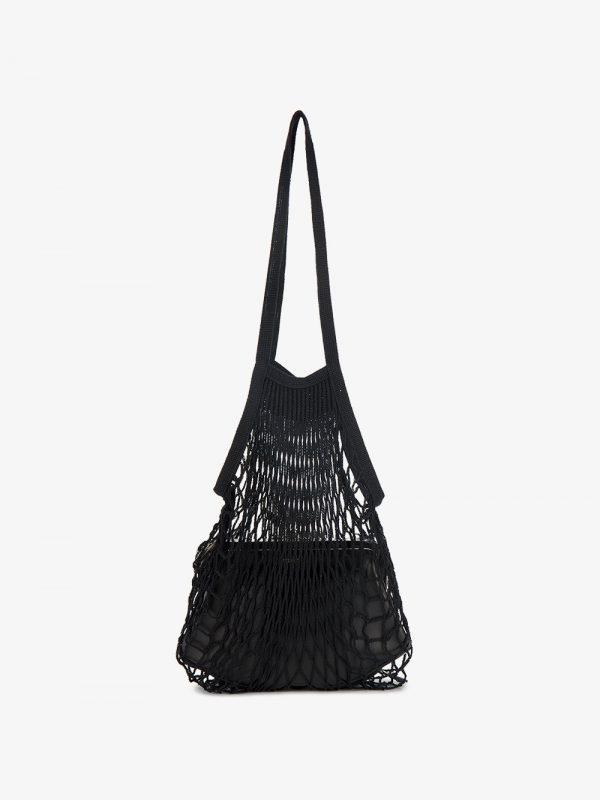 Vetements Black granny shoulder bag