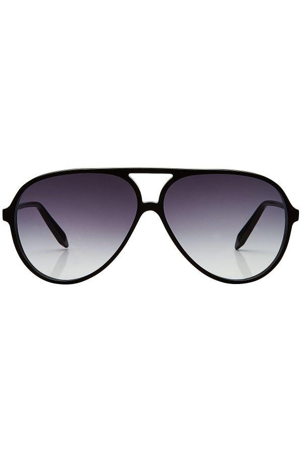 Victoria Beckham Fine Aviator Sunglasses