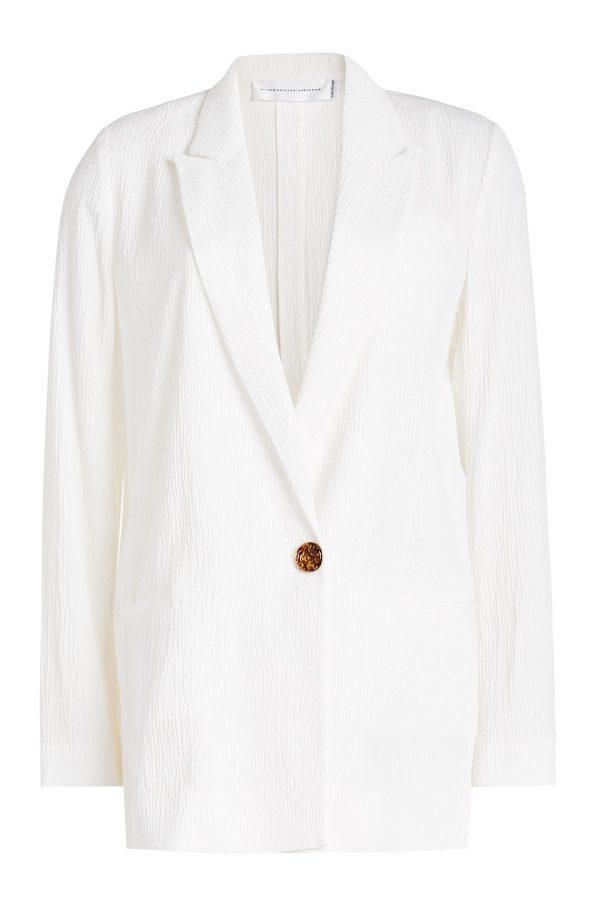 Victoria Victoria Beckham Crepe Jacket