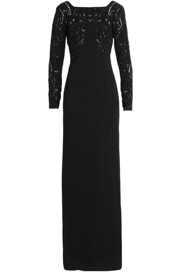 Zuhair Murad Embellished Floor-Length Gown
