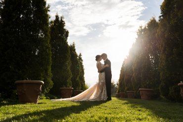 Black Tie Garden Wedding